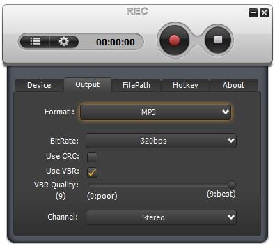 Weeny Free Audio Recorder(录音软件)下载
