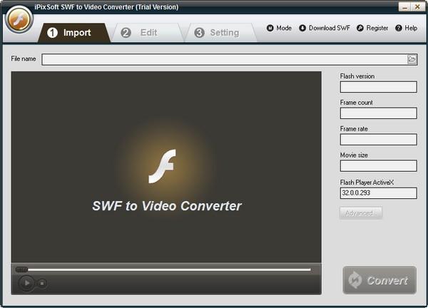 iPixSoft SWF to Video Converter(视频转换软件)下载