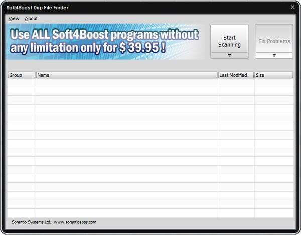 Soft4Boost Dup File Finder下载