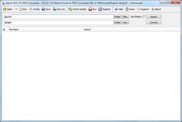 Batch XLS TO PDF Converter(XLS到PDF转换器)下载