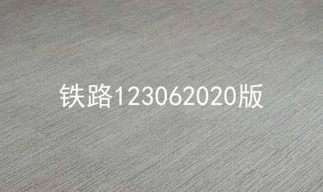 铁路123062020版软件合辑