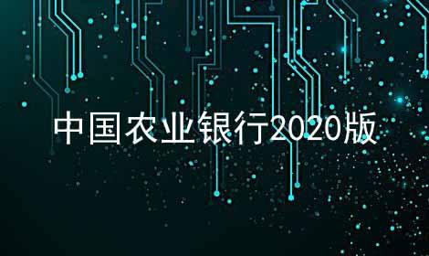 中国农业银行2021版