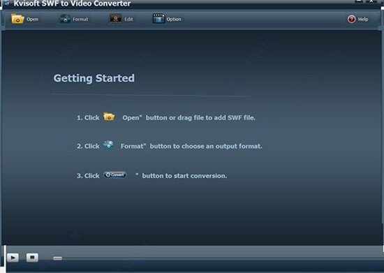 Kvisoft SWF to Video Converter(SWF视频格式转换工具)下载