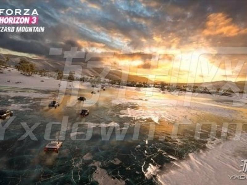 极限竞速:地平线3-冰峰狂飙 破解版下载