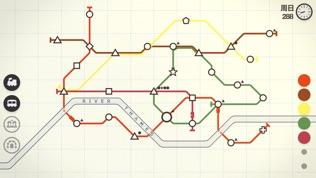 Mini Metro 迷你地铁软件截图1