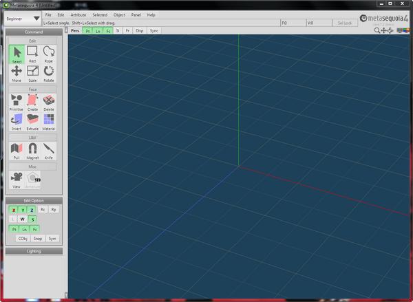 三维模型设计软件(Tetraface Inc Metasequoia)下载