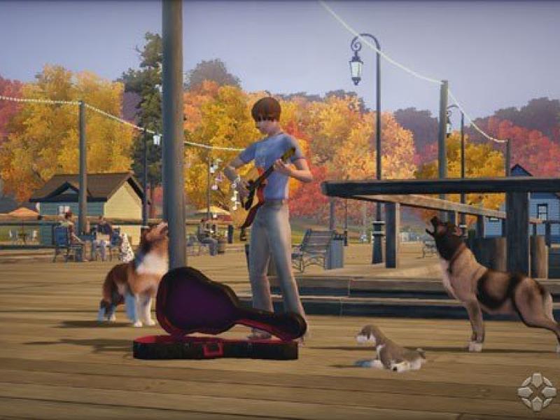 模拟人生3宠物 英文版下载