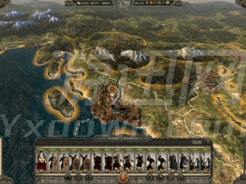阿提拉全面战争:罗马帝国AD395 中文版下载