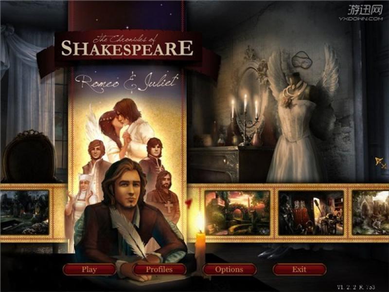 莎士比亚编年史:罗密欧与朱丽叶 英文版下载