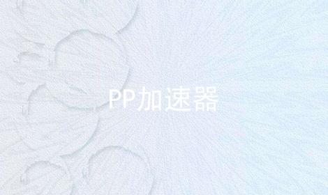 PP加速器软件合辑