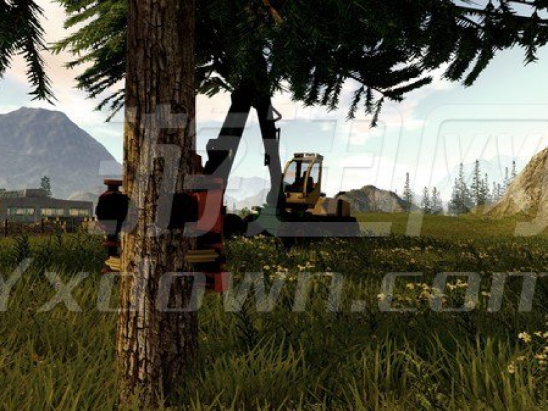 模拟林业2017 英文版下载