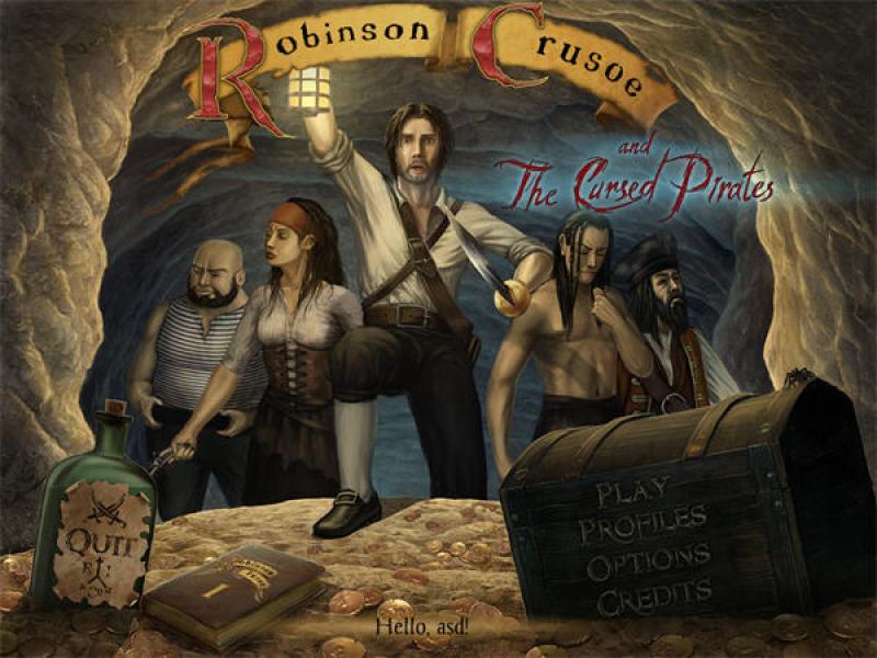 鲁宾逊漂流记与海盗诅咒 绿色安装版下载