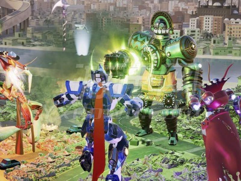 Override:机械城乱斗 英文版下载