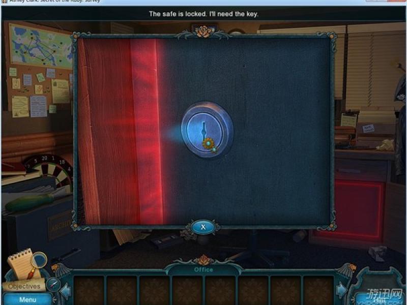 艾什莉克拉克:红宝石之谜 英文版下载