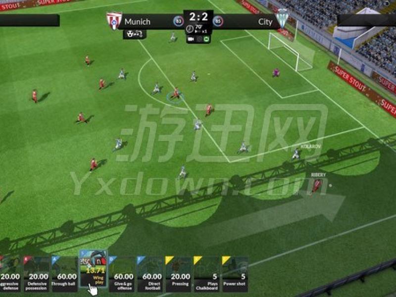 足球俱乐部模拟17 英文版下载