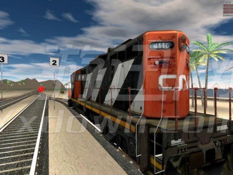 铁路货运模拟 英文版下载