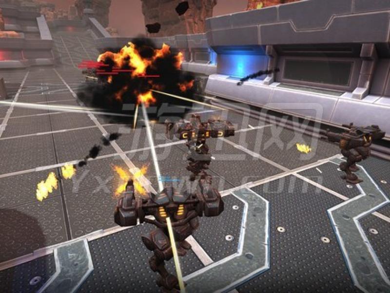 钢铁竞技场:机器人大战 英文版下载