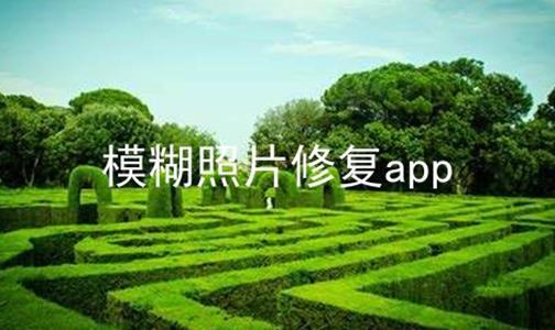 模糊照片修复app软件合辑