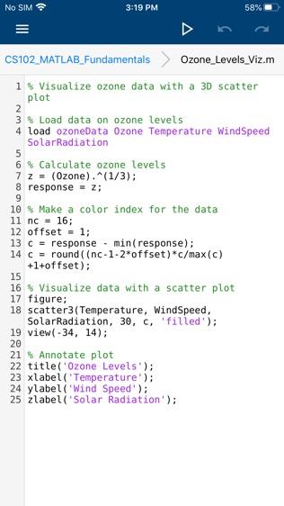 MATLAB Mobile软件截图2