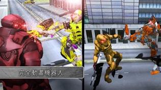 机器人转换模拟机器人战争