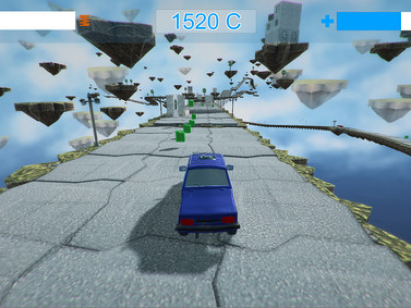 疯狂赛车3D 英文版下载