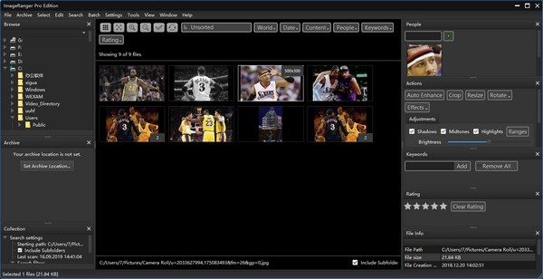 ImageRanger Pro Edition(图形查看器)下载