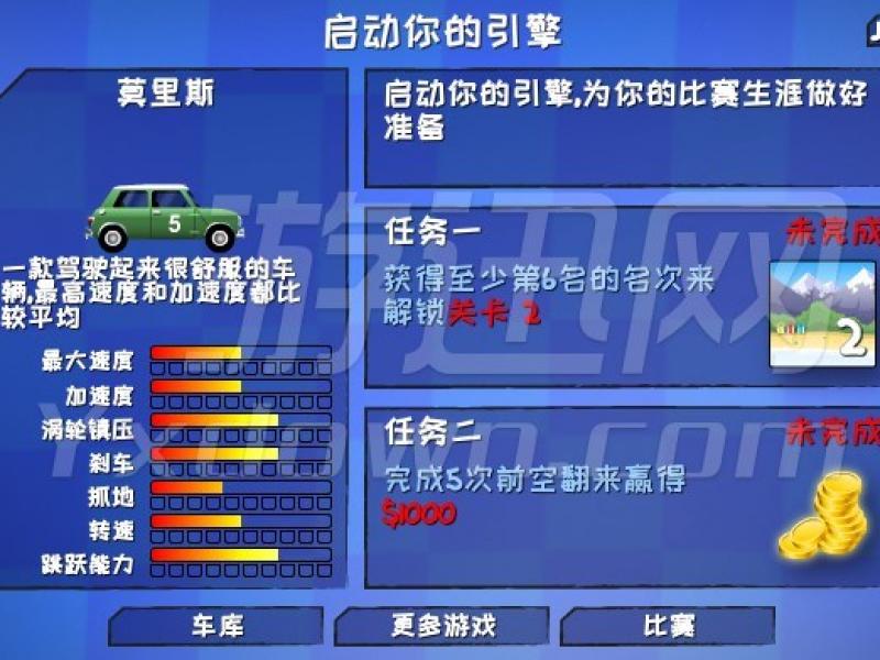 狂暴飞车 中文版下载