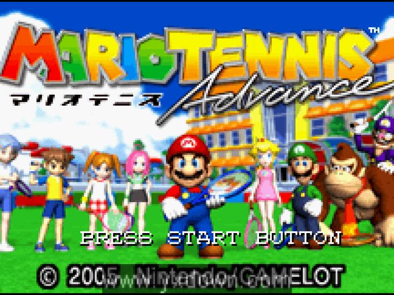 马力欧网球A 日文版[GBA游戏]下载