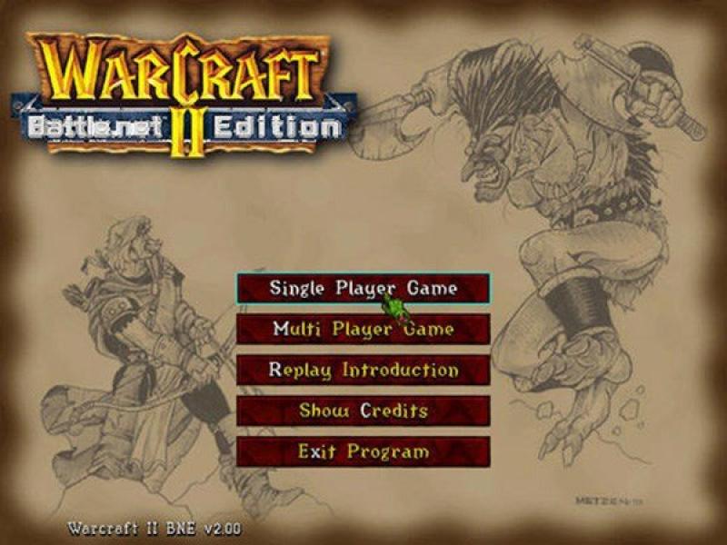 魔兽争霸2 硬盘版下载