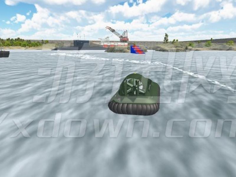 气垫船模拟器 英文版下载