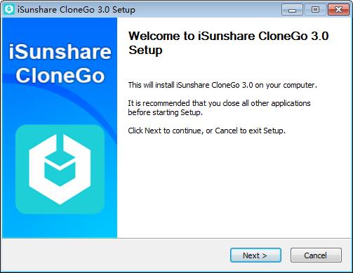 iSunshare CloneGo(系统备份还原工具)下载