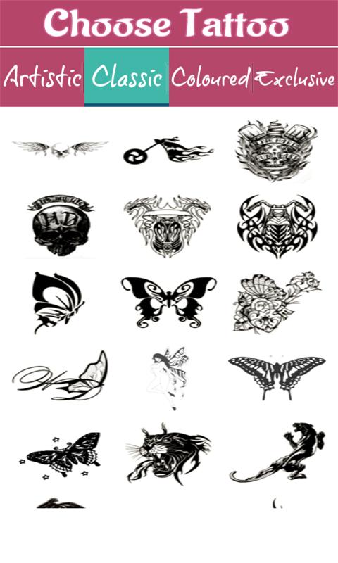 纹身绘制相机