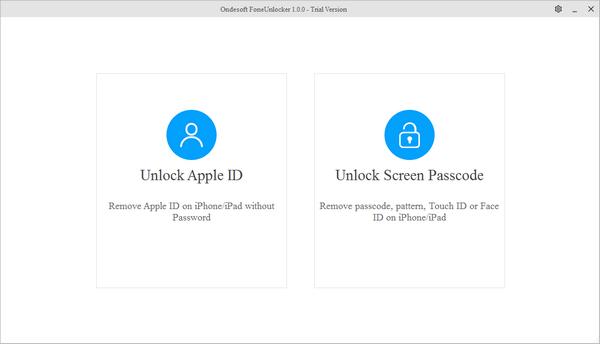IOS解锁工具(Ondesoft FoneUnlocker)下载