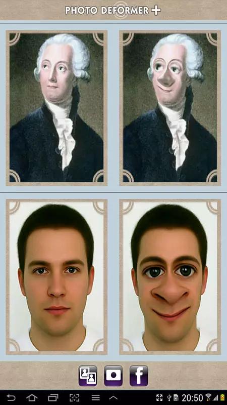 相片搞怪软件截图0
