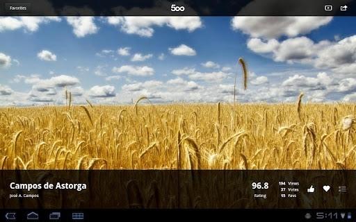 500px专业摄影师图片社区软件截图2