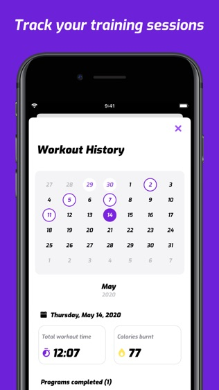 7 Minutes Workout(7分钟有氧锻炼)软件截图2