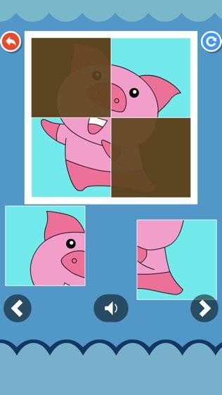 儿童拼涂画动物(奇奇启发)软件截图0