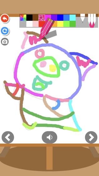 儿童拼涂画动物(奇奇启发)软件截图2