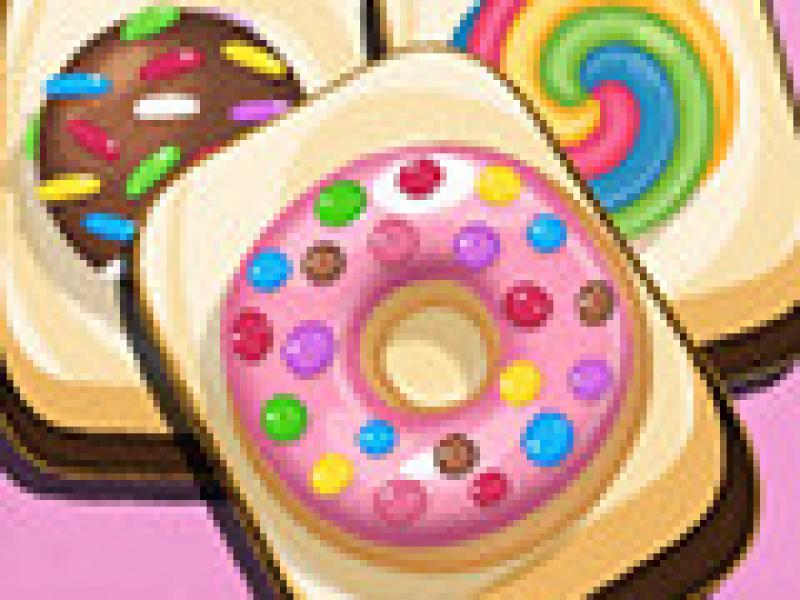 甜蜜的糖果麻将 英文�