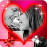 浪漫的爱情相框