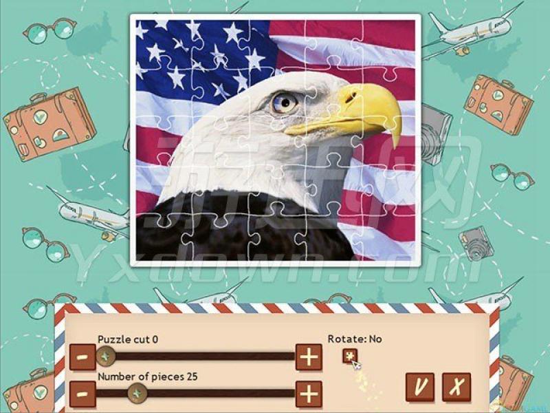 1001拼图世界巡回:美国拼图 英文版下载