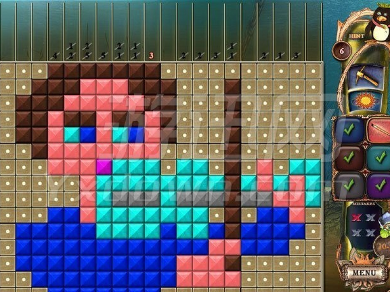 幻想马赛克18:探索新颜色 英文版下载