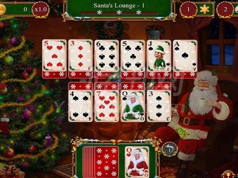 圣诞老人的圣诞接龙 英文版下载
