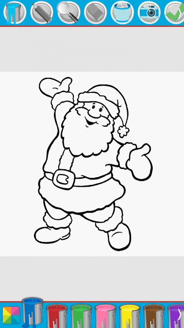 宝宝爱涂色圣诞节篇软件截图1