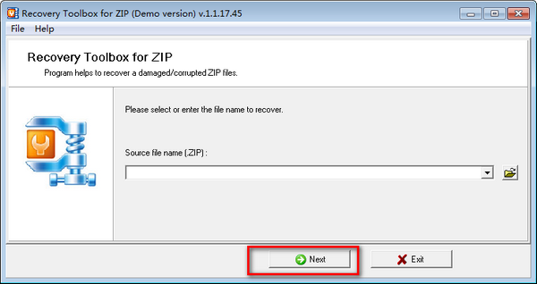 Recovery Toolbox for ZIP(ZIP文件修复工具)下载