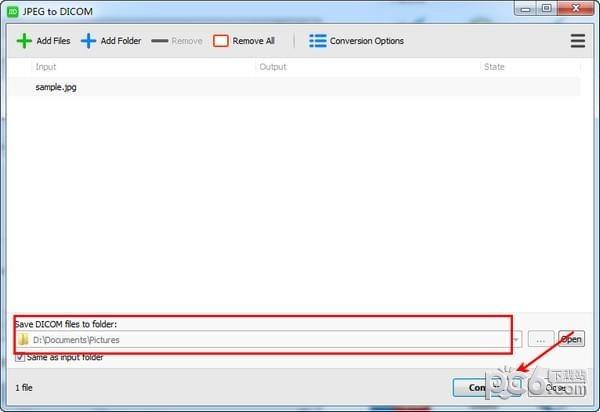 JPEG to DICOM(JPEG转DICOM软件)下载