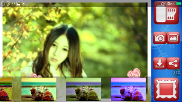 冬季相框摄影软件截图3