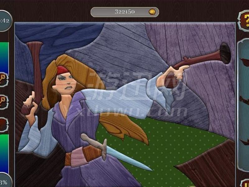 海盗拼图:加勒比宝藏 英文版下载