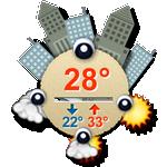 TSF Weather Widget(天气插件)