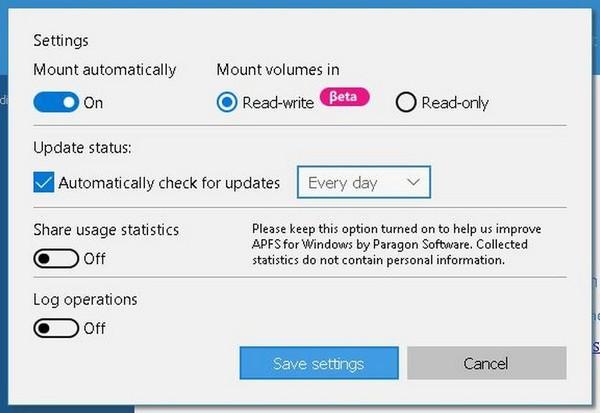 APFS for Windows(APFS格式转换工具)下载